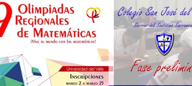 SJA participa de las olimpiadas regionales de matemáticas de UNIVALLE